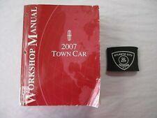 2007 FORD LINCOLN TOWN CAR SERVICE SHOP REPAIR MANUAL