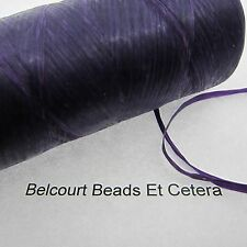 Purple  Sinew 50 Feet (600 Inches) Dream Catchers Leather Bead Crafts 70lb Test