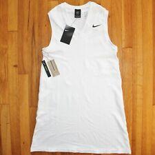 New listing Nike Maria Sharapova Tennis Dress Womens M AT5104-100 White Sleeveless $130 New