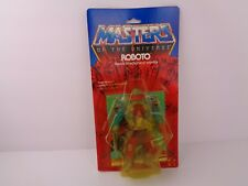 MOTU, Roboto, Masters of the Universe, MOC, carded, figure, He Man, sealed, MOSC