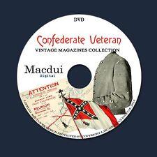 Confederate Veteran Civil War – Vintage Magazines 31 Volumes PDF 1 DVD America