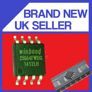 WINBOND 25Q64FWSIG SOP8 IC CHIP GENUINE / UK SELLER FAST POST