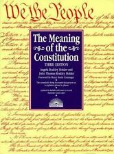 Meaning of the Constitution