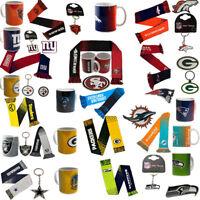 NFL Football Superbowl Team Logo Mug / Scarf / Keyring / Badge Gift Selection