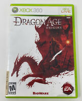 Dragon Age: Origins (Microsoft Xbox 360, 2009) - No Manual Tested Working