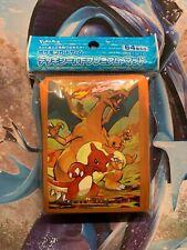 Protège-cartes Pokémon Sleeves x64 Pokémon Center Standard Évolutions Dracaufeu