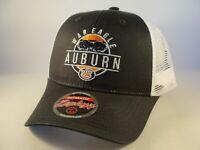 Auburn Tigers NCAA Zephyr Trucker Snapback Hat Cap Gray White