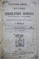 EXPLICATION HISTORIQUE DES INSTITUTS DE L'EMPEREUR JUSTINIEN 1883