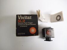Vivitar SL-2 Remote Flash Trigger, In Box with Manual.