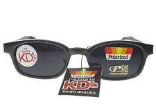 KD's Sunglasses Original Biker Shades Motorcycle Polarized Black Gray 2019 W Bag
