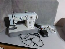 New ListingVintage White Sewing Machine Model 603 With Extras