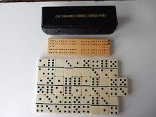 Vintage Club Tournaament Dominoes/Cribbage Board