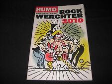 ROCK WERCHTER 2010 FESTIVAL PROGRAMME PRINCE PEARL JAM GREEN DAY RARE