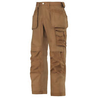 SNICKERS 3214 WORK TROUSERS (HOLSTER POCKETS) BROWN. BRAND NEW WITH TAGS