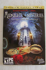 Midnight Mysteries: The Edgar Allan Poe Conspiracy  (PC, 2009) CD-ROM
