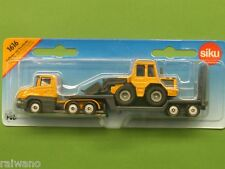 Siku Super Serie 1616 Tieflader mit Frontlader orange-grau