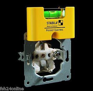 STABILA Pocket Elektric / Stabila Wasserwaage