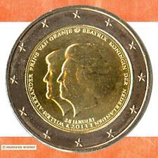 Sondermünzen Niederlande: 2 Euro Münze 2013 Thronwechsel Sondermünze Gedenkmünze