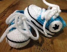 Recién Nacido Zapatillas Deportivas Bebe Ganchillo 0/3 Crochet Patucos Zapatos