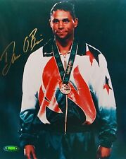 Dan O'Brien Autographed 8x10 With Metal Photo- TriStar Authenticated
