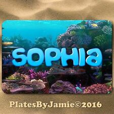 Personalized Custom Any Name Coral Reef Ocean Room Door SIGN Wall Plaque New