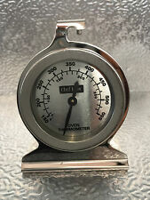 Professional Quality Oven Thermometer Round Face Stainless Steel