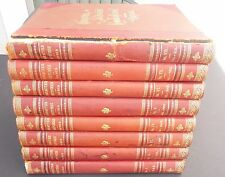 Character Sketches Romance Fiction Drama 8 vol's 1902 Rev. Brewer Selmar Hess