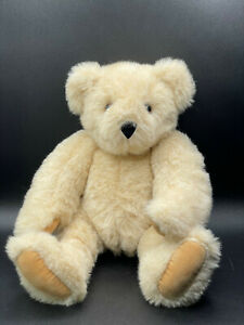 The Vermont Teddy Bear Company Fully Jointed Plush Born in Vermont Collectible