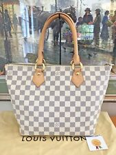 ❤Dust Bag❤Damier Azur Saleya PM❤Louis Vuitton Tote Shoulder Bag