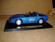 1/18th 1992 Chevrolet Corvette ZR-1 Maisto Fever Motogear special NIB blue COA