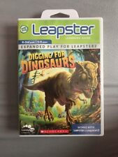"""LeapFrog Leapster Learning Game """"Digging for Dinosaurs""""  Leapster/Leapster2"""