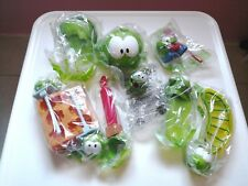 McDonald toys cut the rope frog collection set 8 pics gift for kids super fun
