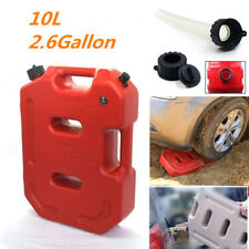 Portable 10L Plastic Jerry Can Vehicle Recovery Diesel Oil Fuel Tank for SUV Car