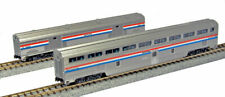 Kato N Scale Amtrak Phase III 2-Car Passenger Baggage Car Set 1067122