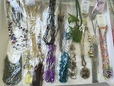 40 PC (20 sets) WHOLESALE LOT COSTUME / FASHION JEWELRY NECKLACE EARRINGS