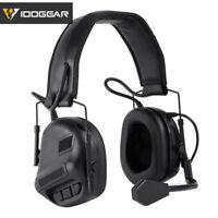 IDOGEAR Electronic Headset Ear Muffs Shooting Ear No Battery Version Hunting