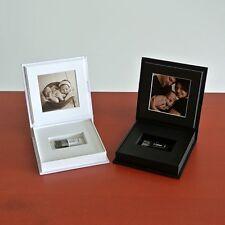 USB Folio Box Case - Black or White New