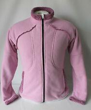 GoLite Women's Full Zip Soft Fleece Jacket Coat Size L, Pink Used!