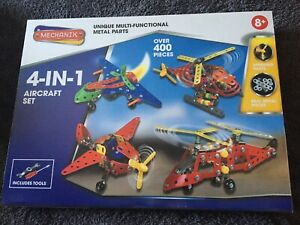 Mechanix 4-in-1 Aircraft Construction Set, New And Sealed