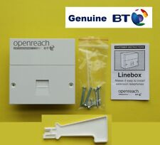 Genuine BT Openreach NTE5A Master Socket With VDSL / ADSL Filter Face Plate