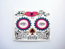 HALLOWEEN DAY OF THE DEAD PARTY TEMPORARY FACE TATTOO COSTUME ACCESSORY STICKER