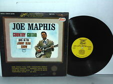 JOE MAPHIS Country Guitar Goes On The Jimmy Dean Show LP Vinyl Maybelle Dixie