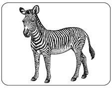Zebra Tappetino mouse-LINE ART Disegno