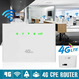 Portable Wireless Router With Sim Card 4G Router Mobile WIFI Hotspot Unlocked