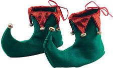 Elfo Adulto Bufón Gnomo Pixie Zapatos Vestido Elaborado Disfraz De Navidad Santas ayudante