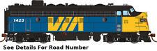 HO Rapido 222539 FP7A VIA Rail Canada #6553 - DCC/Sound