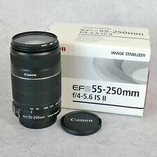 Canon EFS 55-250mm F4-5.6 IS II Lens          37