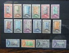 Bahamas 1954 - 1963 set to £1 LMM SG201 - SG216