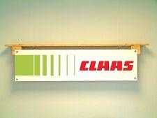 Claas Trattore Capanno Banner-affluenza ATTREZZATURA OFFICINA SEGNO in PVC