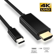 USB C to HDMI Cable (4K@60Hz/30Hz) [Thunderbolt 3 Compatible] For iPad Pro 11""